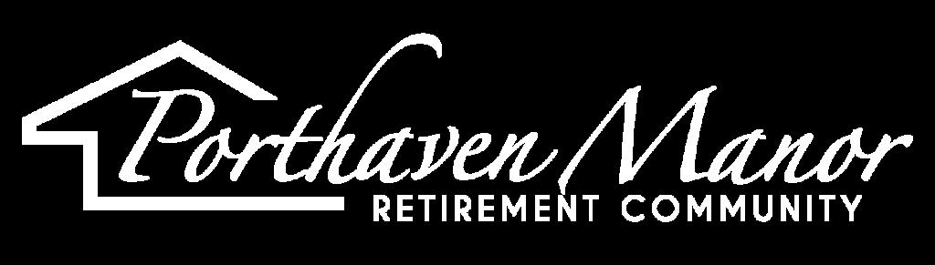 Porthaven Manor White logo